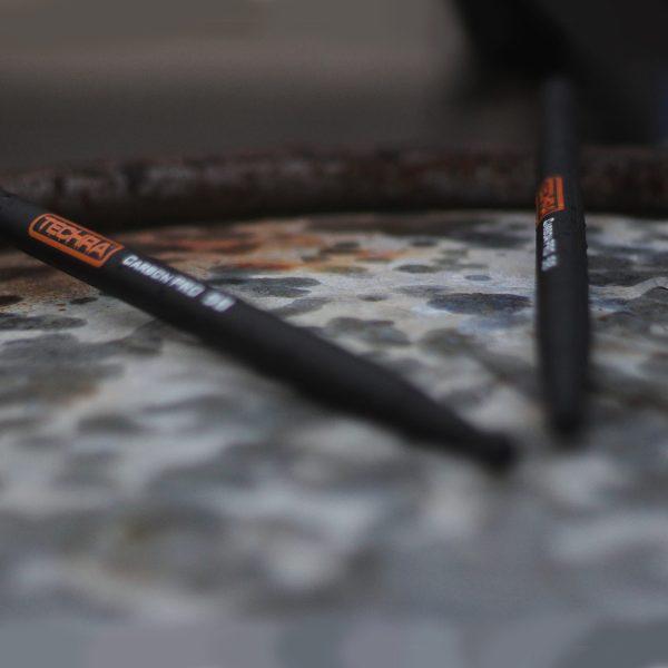 Carbon Pro 5B Techra Carbon Drumsticks