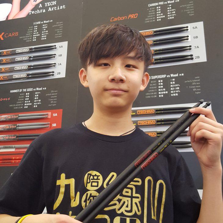 Zhang Ao - Independent - Techra Drumsticks