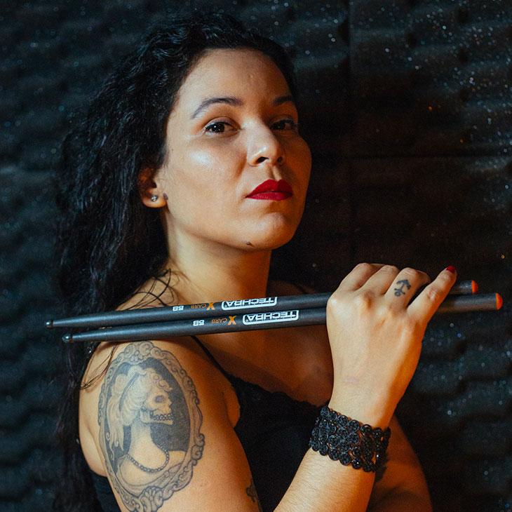 Julie Sousa - Indipendent - Techra Drumsticks