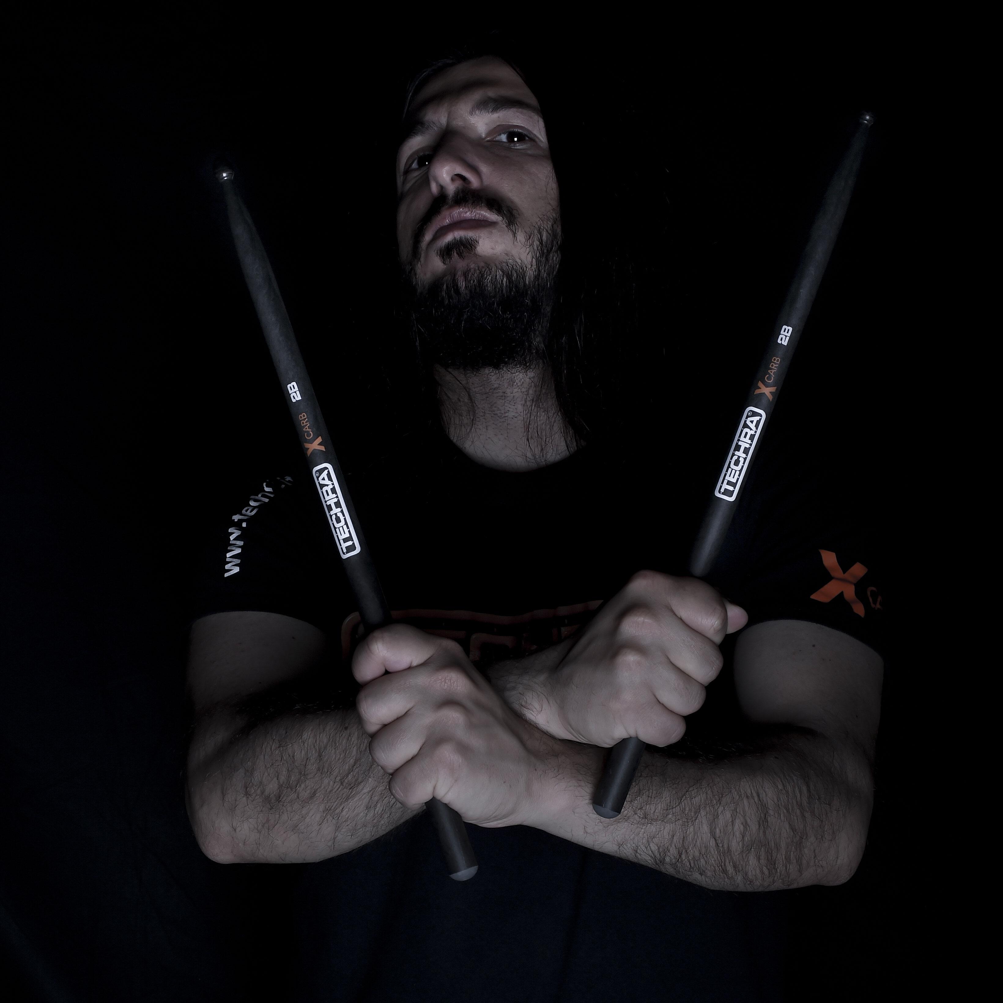 "Simone ""Arconda"" Piras - Worstenemy - Techra Drumsticks"