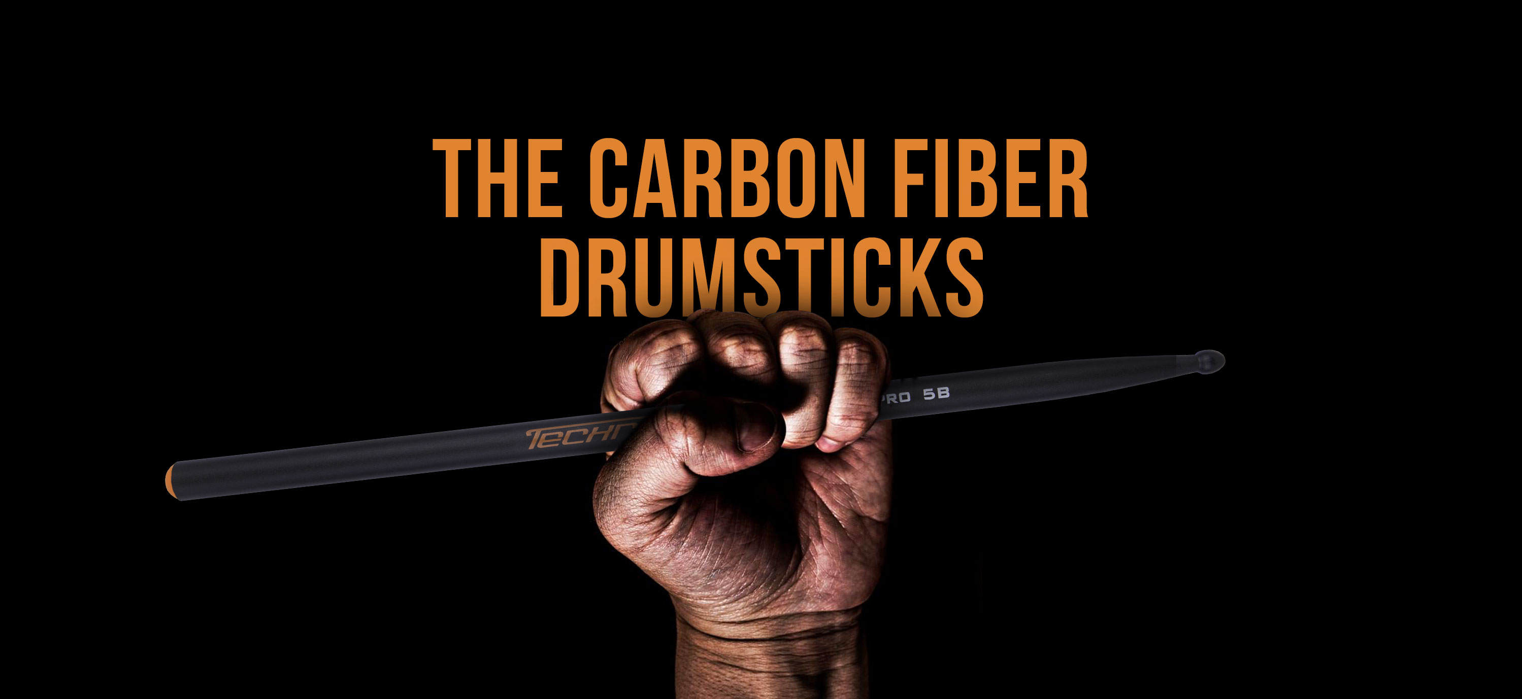 The Carbon Fiber Drumsticks Techra