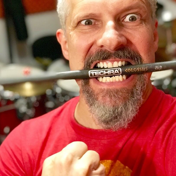 Loco Sosa Techra Drumsticks Endorser